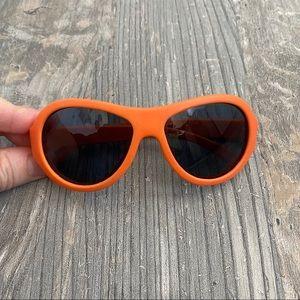 Babiators Orange Baby Sunglasses Aviators Ages 0-3